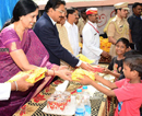 Mumbai: Governor spends Diwali with old, inform, handicapped & street children