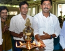 M'lore: Mayor Mahabala opens exhibition of TN Handicrafts Devt Corp in city