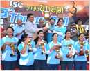 Abu Dhabi:  Mogaveers Dubai and Abu Dhabi Karnataka Sangha lift ISC-Arab Udupi Throw-ball trophies