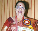 Mangalore: Corporator Mrs. Gretta Rebello conferred with two prestigious awards