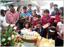 Monthi Fest celebrations at St. Ann's Friary, Mangalore