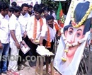 Hassan: District BJP Youth Wing Celebrates Birth Anniversary of Bhagat Singh