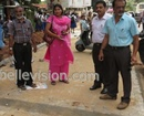 M�lore: Municipal Authorities begin Laying Interlocks in front of St Agnes College