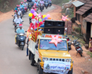 Bantwal: Allipade parish holds procession of Christmas tableau to convey peace