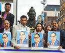 London: Dr Ambedkar's birth anniversary celebrated at Basaveshwara statue