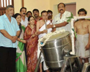 Karkal: Annapoorneshwari - modern kitchen inaugurated at Mundkoor temple
