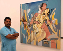 Mumbai: Renowned artist Wilson Kayyar holds Feminine Narratives, art exhibition in city