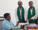 JDU candidate Balakrishna Poojary submits nomination papers