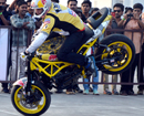 Mangaluru: After Brad Ripple European Stunt, Champion Aras Gibieza stuns City-folks