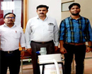 Udupi: Students of SMVITM, Bantakal develop black pepper separator & collector