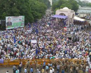BSP workers take to the streets, demand arrest of Dayashankar