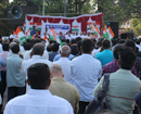Mangaluru: Congress stages protest against CAA and NRC