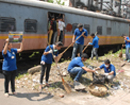 Mumbai: Over 200 students of VES Institute of Tech clean up Chembur Rly Station