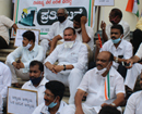 Mangaluru: Congress protests for failure of BJP-led union govt