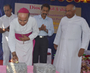 Udupi: Foundation stones for three Diocesan Projects blessed by Bishop Gerald Lobo