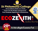 Puttur: St Philomena College to hold Ecozenith 2020, Economics Fest on Feb 20