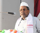 Kar former CM Siddaramaiah addresses Congress activists in city; visits flood-victims