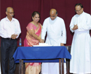 Mangaluru: Priestly Silver Jubilee of Fr Swebert Marked with Elan at St Aloysius College