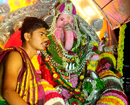 Bantwal: Colourful procession mark Ganeshotsav celebrations at B C Road