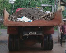 Bantwal: Municipal member protests by parking garbage-laden truck at civic building