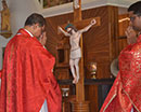 Udupi: Good Friday Service Commemorating the Crucifixion of Jesus Observed with Devotion and Sorrow