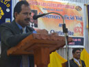 Lions Governor V.G. Shetty On Official Visit to Lions Club, Moodubelle