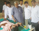 Mangaluru: Several people benefit from free health checkup camp organized by Congress