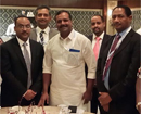 Karnataka minister U T Khader briefs Ethiopian minister about reforms in healthcare services