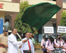 Udupi: Milagres College students campaign for Mandatory use of Helmet rule
