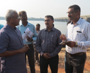 Mangaluru: MLA Lobo holds survey for proposed highway along Netravati River to Kannur