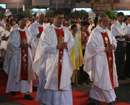 Maundy Thursday observed with solemnity and devotion at Milagres Church Mangaluru