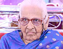 Udupi/M'Belle: Mrs. Josephine DSouza marches into 101st year with good health and contentment