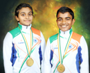 Mangaluru: City students win gold in 13th National Ice Skating Championship
