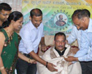 Dubai: Facilitating & honoring of Mr. Ivan Dsouza (MLC - Karnataka State) by Sfxkutam  UAE