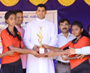 Udupi: Jnanaganga PU College, Moodubelle wins taluk volleyball tourney for successive 3rd year