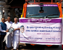 KBL donates truck to Siri Village Industries, Dharmastala; CEO assures KBL on sound footing