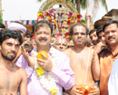 Krishnarajapete: MLA Narayan restores annual festivities at Laxminarayan temple after 25 yrs