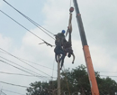 Accidental electrocution: Labourer critically injured
