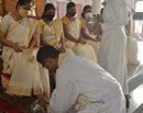 Udupi/ M'Belle: Maundy Thursday Observed with Devotion and  Washing Feet of Youth