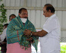 MLC Ivan D'Souza felicitated by residents of his hometown Mudarangady for infra devt