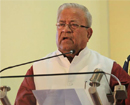 Mangaluru: India is rich, Indians are poor: Governor P B Acharya
