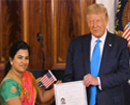 Indian software engineer becomes US citizen in rare ceremony hosted by Trump