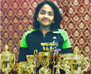 Neha Shetty (12) from Qatar Badminton Association ranks No 1 among GCC