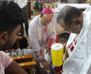 Maundy Thursday observed with great devotion at Milagres Cathedral, Kallianpur
