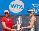 Sania Mirza-Martina Hingis win Wuhan Open title