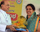 Udupi: Bishop Gerald Lobo Felicitates Women Participants in the Recently Concluded Panchayat Electio