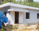 Native/Overseas donors build house for a poor family at Katpady