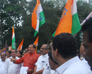 Congress protests against resignation of DC Sasikant Sentil; demands probe