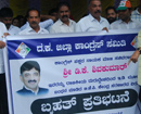Congress stages protest against arrest of D K Shivakumar by ED
