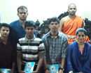 Udupi: Ramakrishna Ashram, Belagavi donates Rs 1.5 lac for poor students of SMVITM & SVH PU College